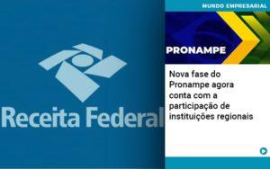 Nova Fase Do Pronampe Agora Conta Com A Participacao De Instituicoes Regionais - Contabilidade em Palmas